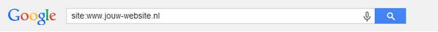 Zoek de metabschrijvingen van je eigen site in Google